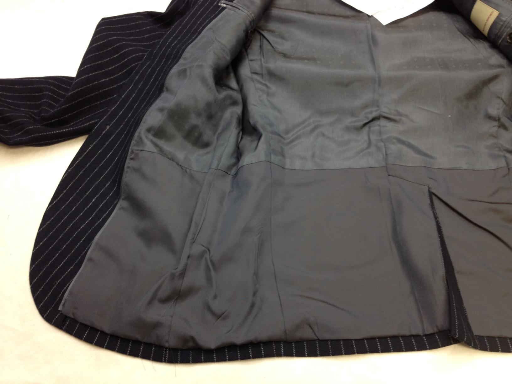 ジャケットの裏地修理after