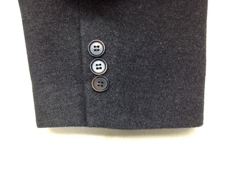 コートの袖口のスリキレ修理after