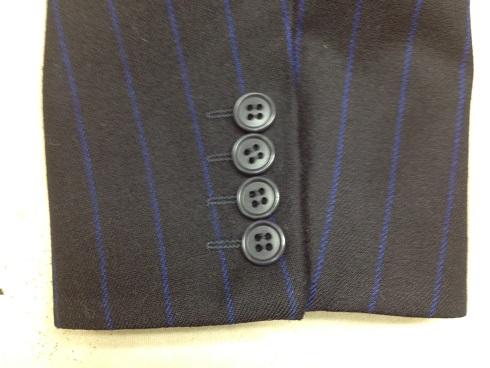 袖口の擦り切れ修理(ジャケット)after