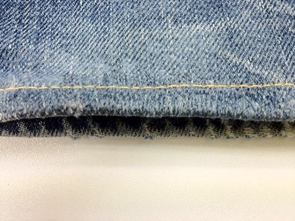 裾の破れリペアafter