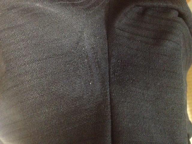 パンツの股の破れ直しafter