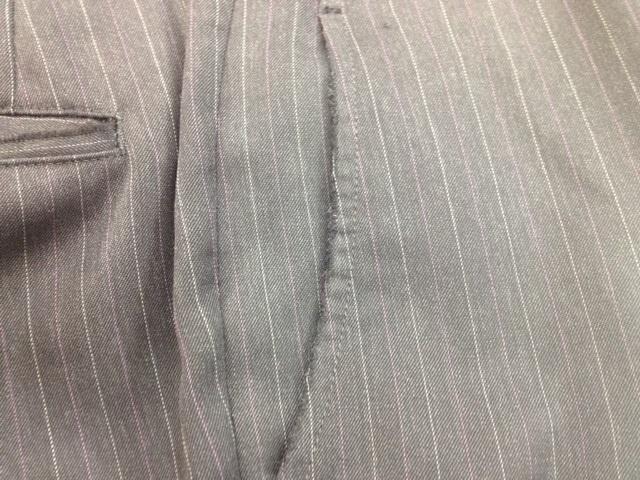 パンツの前側のポケットの破れ直しbefore