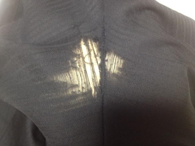 パンツの股の破れ直しbefore