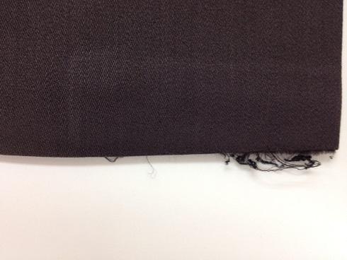 ズボン裾の破れ修理before