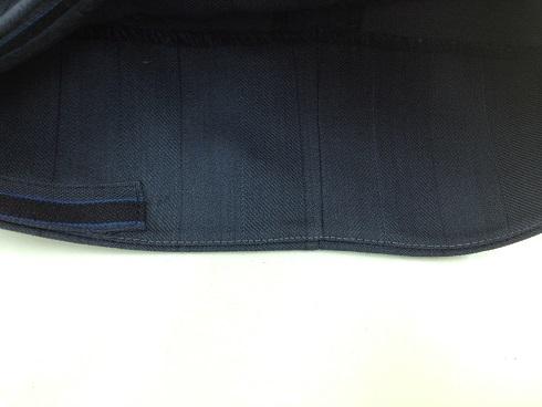 ズボン(シングル)の裾の破れ直しbefore