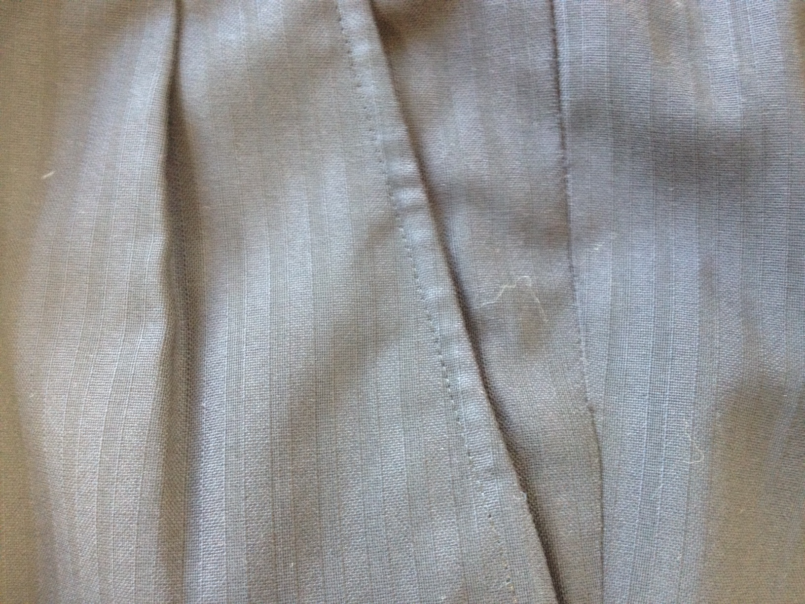 スーツ脇(前)ポケットの擦れ直しafter